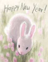Happy Year of the Bunny by enonea