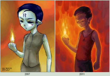 Raute 2007 and 2011 by enonea