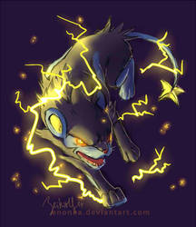 Luxray by enonea