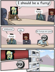 Furry Meme by CnowFlake