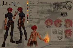 Jak Nyfe character sheet by m-t-copyright