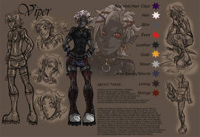 Viper Character Sheet by m-t-copyright