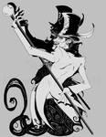 Shadowman got friends by m-t-copyright