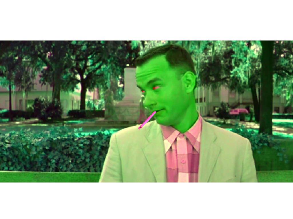 Forrest Gump Gets Off His Face On Park Bench By Kylehinks On Deviantart