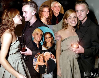 Dramione collage by AlbinaAvie