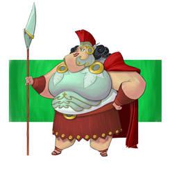Roman Woman Warrior Goddess by Jtown67