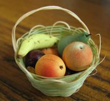 Fruit Basket by fairchildart