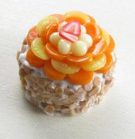 Fruit Topped Cake by fairchildart