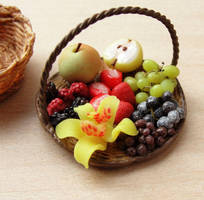 Fruit Variety Basket by fairchildart