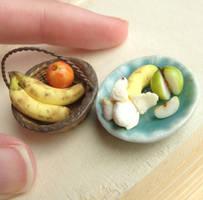 1:12 Apples and Bananas by fairchildart