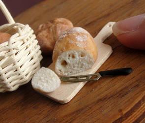 1:12 Scale Bread by fairchildart
