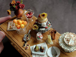 Dollhouse Dessert Table by fairchildart
