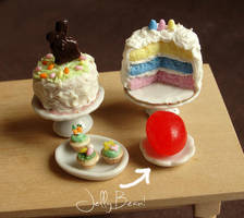 Dollhouse Easter Sweets by fairchildart