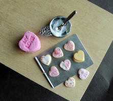 Valentine's Day Cookies by fairchildart