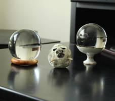 Pug Ball by fairchildart