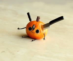 Hannah Hillam Pumpkin by fairchildart