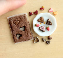 VDay Brownies by fairchildart
