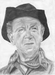 Sid James as the Rumpo Kid by bawdrysinger