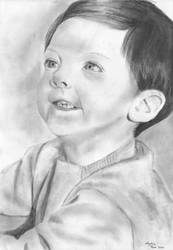 Study of a young boy by bawdrysinger
