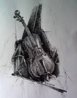 Violin by Kazuren