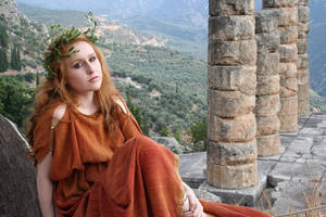 Classical Grecian 5 by chirinstock