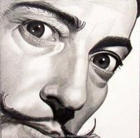 Dali - Pencil by ckoffler