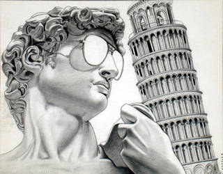 David in Pisa by ckoffler