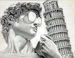 David in Pisa by ckoffler