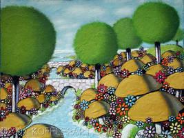 Mushroom Island by ckoffler