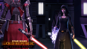 Star Wars: The Old Republic - The Fallen Knight by dalekcaan1