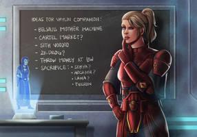 Vaylin Companion? by dalekcaan1