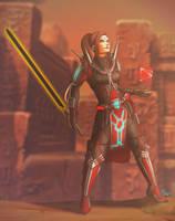 Eternal Sith Warrior by dalekcaan1
