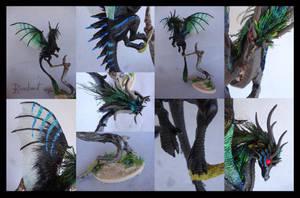 Black dragon Companion by rivalmit