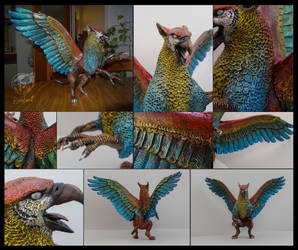 The colorful griffin by rivalmit