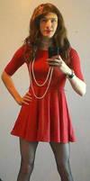 Red Dress by Mezuki111