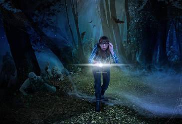Flashlight by kimsol