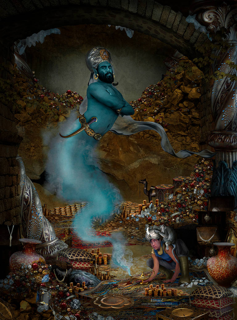 The Magic Lamp by