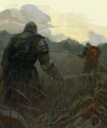 Knights by Grobelski