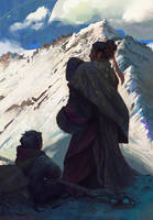 Pilgrimage (print available) by Grobelski