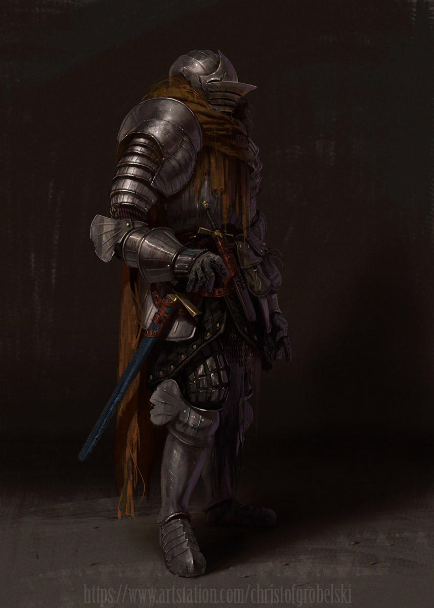 Fluted armor remaster by Grobelski