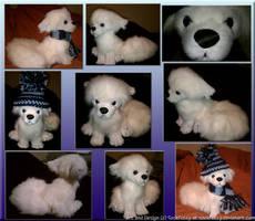 Snowfox Plush by sockfuzzy