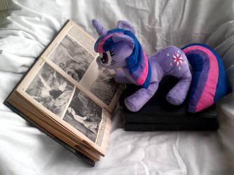 Twilight Sparkle Plushie by sockfuzzy