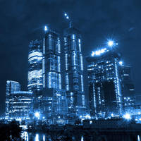 business center in Moscow by NTrike