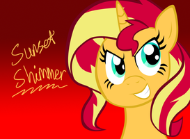 Sunset Shimmer by TigerPegasus