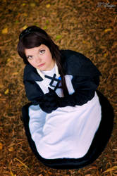 I am the vestal of the wind! - Agnes Oblige by IkariNyan