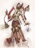The Zombie Priest 2.0 by Tristan-Despero