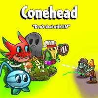 Conehead - Don't deal with EA! by SomeCreativeGuy