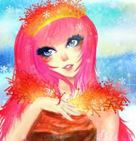 MidWinter Fire - Cornus sanguinea ++contest++ by NestOfDreams