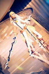 Saber Nero - Fate Grand Order (Bride Version) by KaddiCosplay