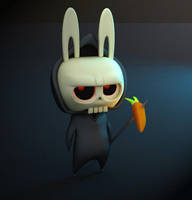 Death Bunny by GS-Dracko